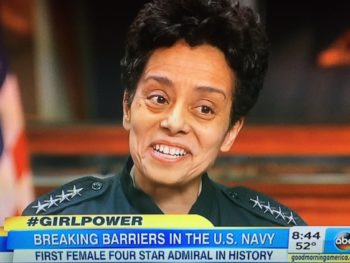 Navy Admiral Michelle Howard/ABC Screenshot