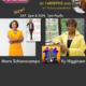 """On TWE Radio: Mara Schiavocampo with her book, """"Thinspiration,"""" and Vy Higginsen with """"Alive: 55+ and Kickin'"""" show poster"""