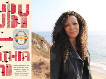 Cynthia Bond and her book 'Ruby'--Photo; Crown