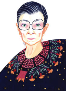 Ruth Bader Ginsburg/NY Times/Drawing:/Eleanor Davis