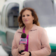 Zoey Tur, news helicopter pilot for Inside Edition