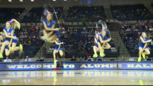 Firecrackers, skilled jump rope group/CBS News