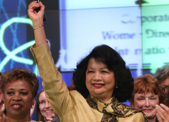 Irene Natividad--President of Global Summit of Women