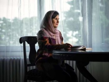 Rula Ghani/Photo: Newsha Tavakolian for TIME