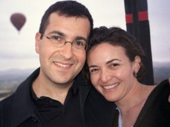 Sheryl Sandberg and husband David Goldberg/Photo: Sheryl Sandberg on Facebook
