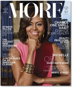 Michelle Obama cover of MORE