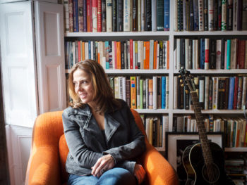 Mary McBride singer at home in Brooklyn/Photo: Nancy Borowick for The New York Times