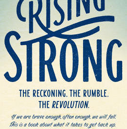 Brene Brown's book, Rising Strong
