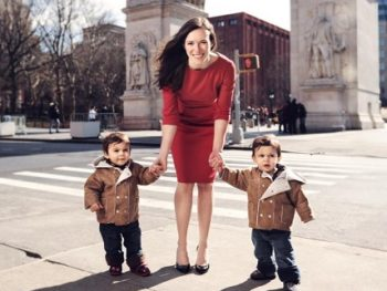 Jessica Jackley and twin boys, author of Clay Water Brick/Photo: Jessica Jackley