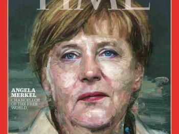 Angela Merkel, Time Person of the Year 2015