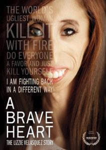 "Lizzie Velasquez, ""A Brave Heart"" documentary"