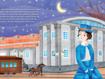 Kate Warne book by Elizabeth Van Steenwyk/From 'How Kate Warne Saved President Lincoln""