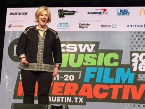 Brene Brown at SWSX/Photo: SXSW