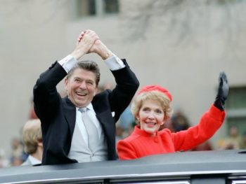 Reagans at the 1981 Inaugural/Photo: Ronald Reagan Library