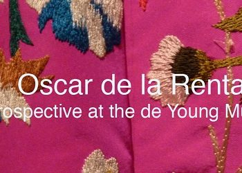 Oscar de la Renta de Young exhibit/Photo: Wendy Verlailne
