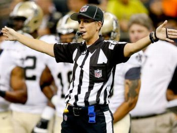 Sarah Thomas, nfl official/Photo: Derick E. Hingle/USA TODAY SPORTS