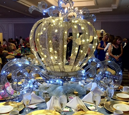 Cinderella Table at FairyTale Tea, Lauren Daniels/Photo: P. Burke