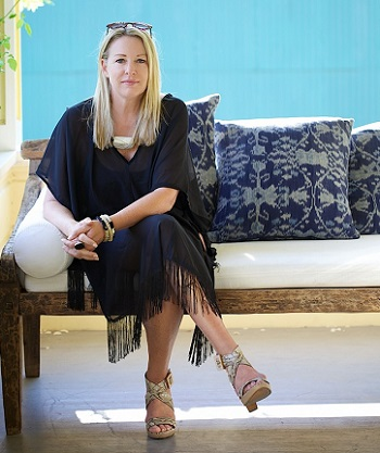 Linda Hamilton, founder Nomad Chic/Photo from Linda