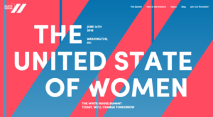 United State of Women Summit logo/refinery29
