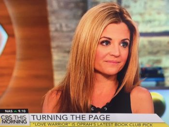 "Glennon Doyle Mellon, author ""Love Warrior""/Photo: CBS Screenshot"