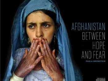 Paula Bronstein's Afghanistan: Between Hope and Fear book/Photo cover: Paula Bronstein