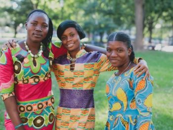 "girls from the documentary ""We Will Rise""/Photo from Glamour.com"