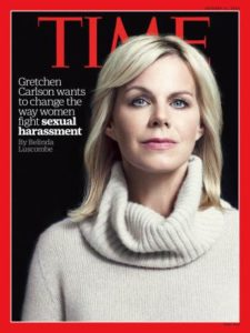 Gretchen Carlson/Photo: Time Cover
