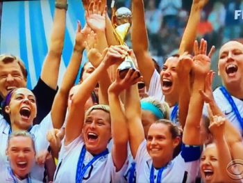 U. S. Women's Soccer Team--forbes.com--11/21/16--Photo: CBS Screenshot