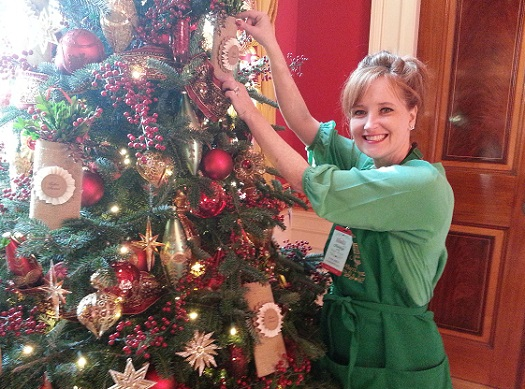 Coleen Christian Burke, author Christmas withe The First Ladies/Photo: Coleen Christian Burke