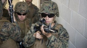 TacticalLife article n First Three Female Infantry marines Join Camp Lejeune Battalion/Photo: Lance Cpl. Koby Saunders/U.S.Marine Corpors