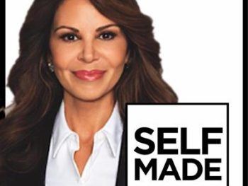 Nely Galan and her book, Self Made