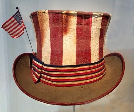 Summer of Love Jerry Garcia hat at deYoung Summer of Love exhibit/Photo provided by Wendy Verlaine