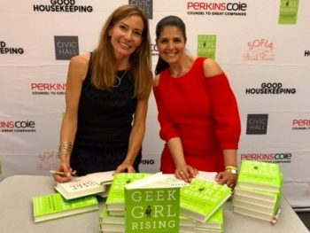 Authors Samantha Walravens and Heather Cabot of Geek Girl Rising/Photo provided by them