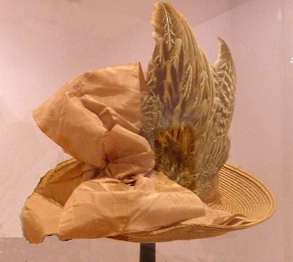 Owl plumage used in hat decoration at Legion of Honor Degas exhibit SF/Photo: Courtesy Wendy Verlaine