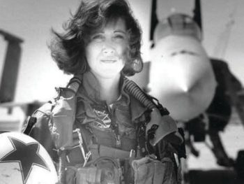 Tammy Jo Shults, pilot who landed SW 1380/Photo: Linda Maloney