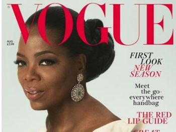 Oprah Winfrey cover Vogue, Aug. 2018/Photo: Vogue Cover