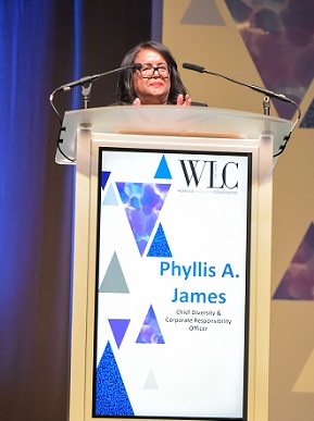Phyllis A. James from the Women's Leadership Conference Las Vegas/Photo Courtesy WLC