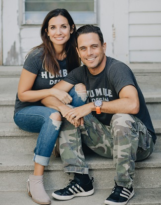 "Treger Strasber, host of ""Welcome Home,"" and husband Rob/Photo Courtesy of Treger Strasberg"