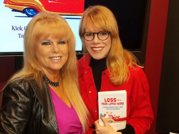 Carol Brody Fleet, author of Loss is a Four-Letter Word with TWE Radio Host Stacey Gualandi   The Women's Eye