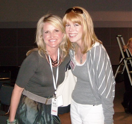 Mel Robbins and Stacey, MORE Convention. 2011