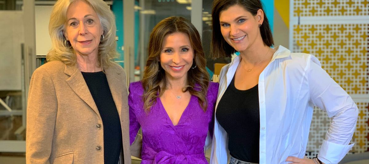 TWE Podcast with Sarah Benken, founder and CEO of KNOW Book + Tribe with host Catherine Anaya and TWE Contributor and Sponsor, Catherine Scrivano, founder of CASCO Financial Group