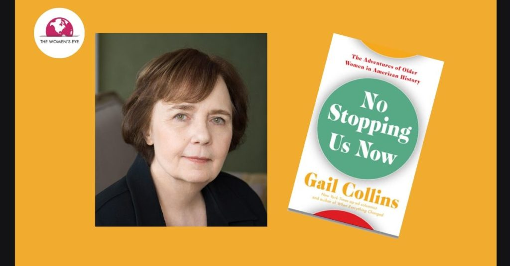 "Gail Collins, author ""No Stopping Us Now"", also New York Times Editorial writer; Credit: Nina Subin"