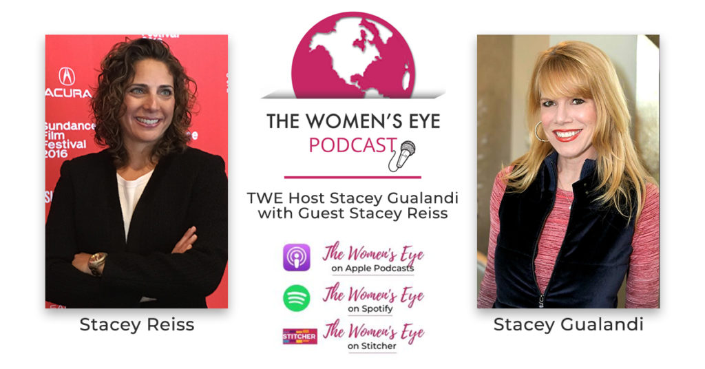 TWE 278: Stacey Reiss, Producer of Spaceship Earth on the team of 8 who created Biosphere 2 with TWE Podcast Host Stacey Gualandi | The Women's Eye