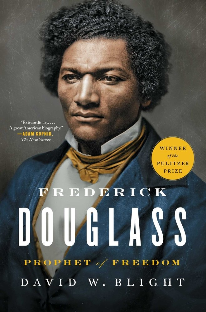 TWE Bookshelf pick Frederick Douglass by David Blight; choice of Dr. Mona Hanna-Attisha, author of What the Eyes Don't See, for The Women's Eye.