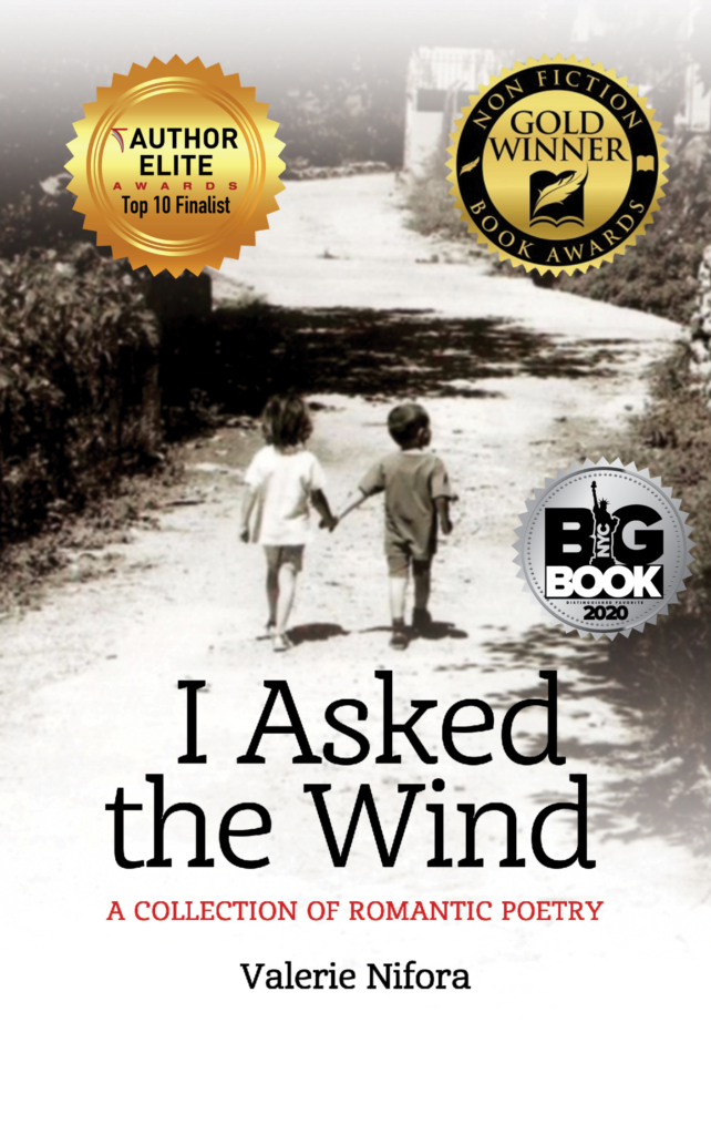 Book cover of I Asked the Wind by debut author Valerie Nifora