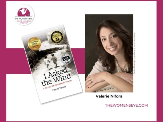 """Valerie Nifora, debut author of """"I Asked the Wind"""" on The Power of Storytelling   Interview on The Women's Eye with Patricia Caso"""
