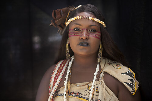 Camille Seaman's photo for We Are Still Here: A Native American Portrait Project