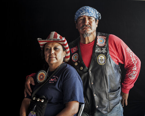 Photographer Camille Seaman's photo for We Are Still Here: A Native American Portrait Project